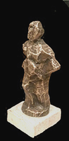 Mogens Kischi - Stående bronce