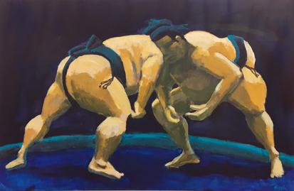 Mogens Kischi - Sumobrydere
