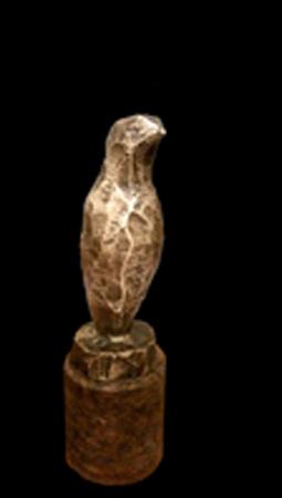 Mogens Kischi - Fugl - bronze