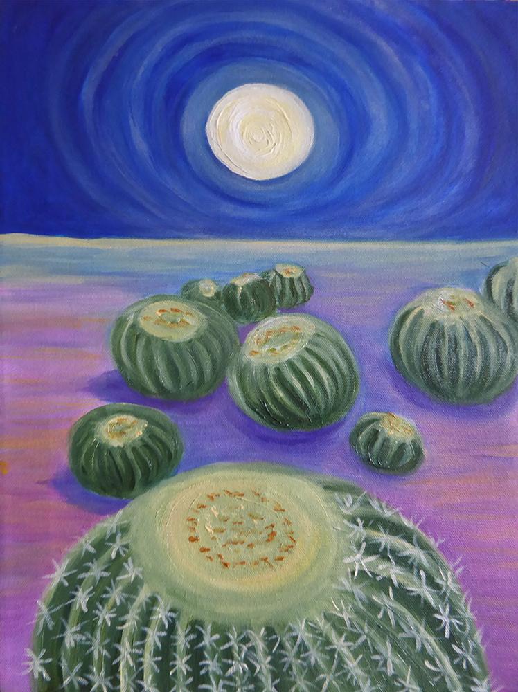 Ingrid Lingsberg, painting