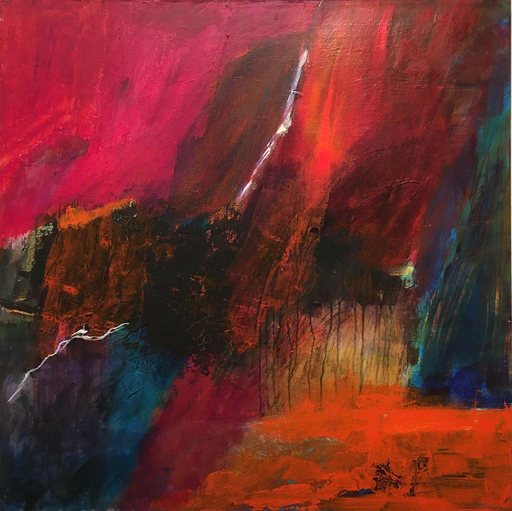 Sólva Gunnarsson Olsen, painting