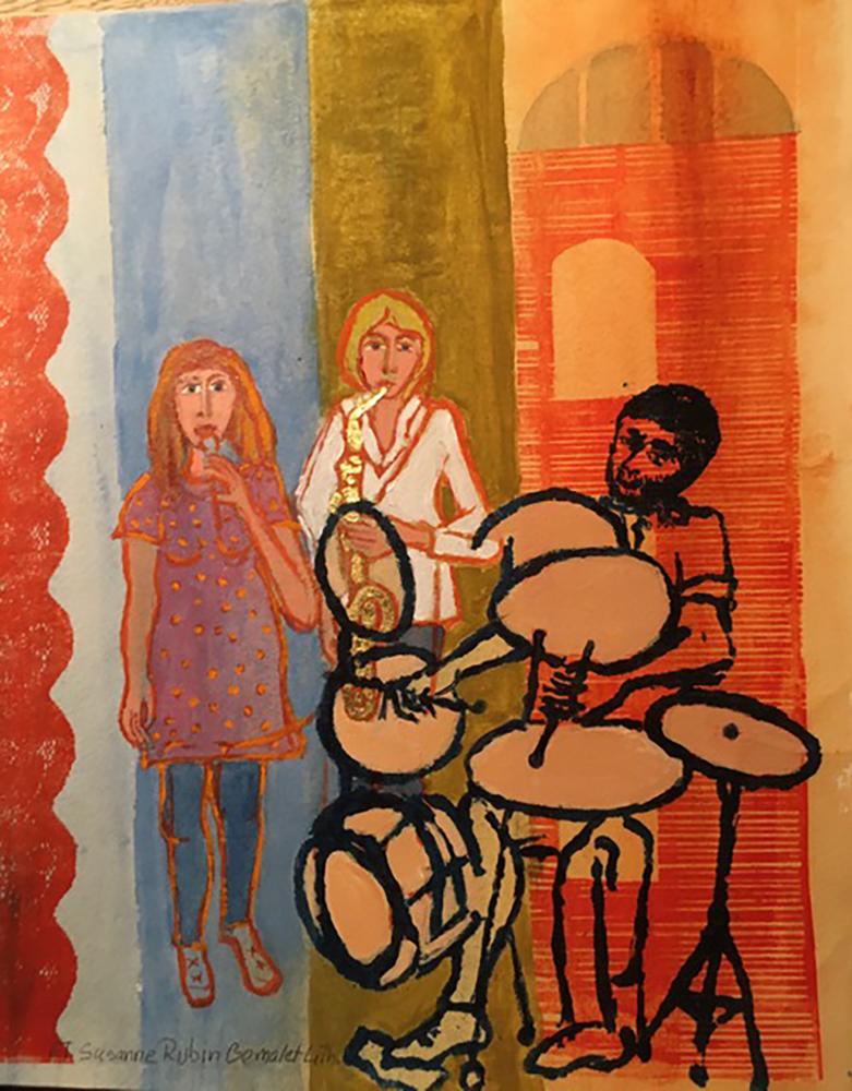 Susanne Rubin, painting